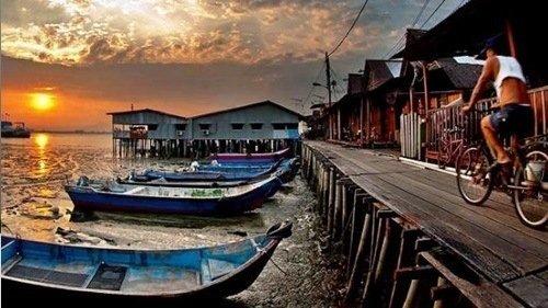 페낭 수상 가옥