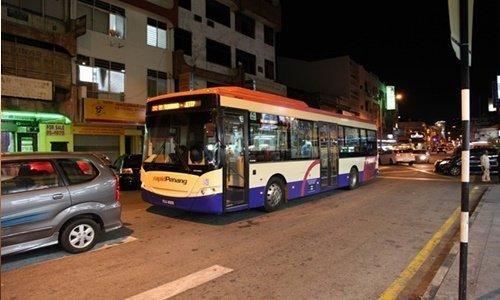 페낭 여행 버스
