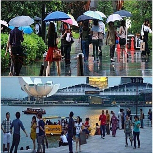 싱가포르 10월 날씨 여행 옷차림