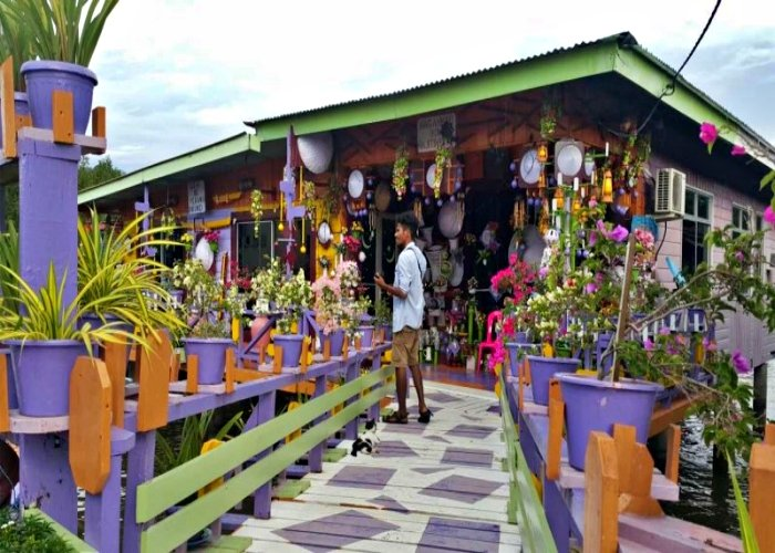 브루나이 여행 수상 가옥