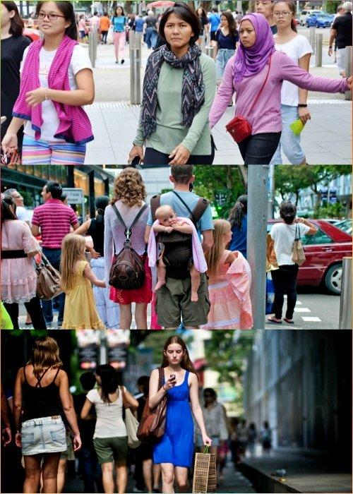 싱가포르 여행 옷차림