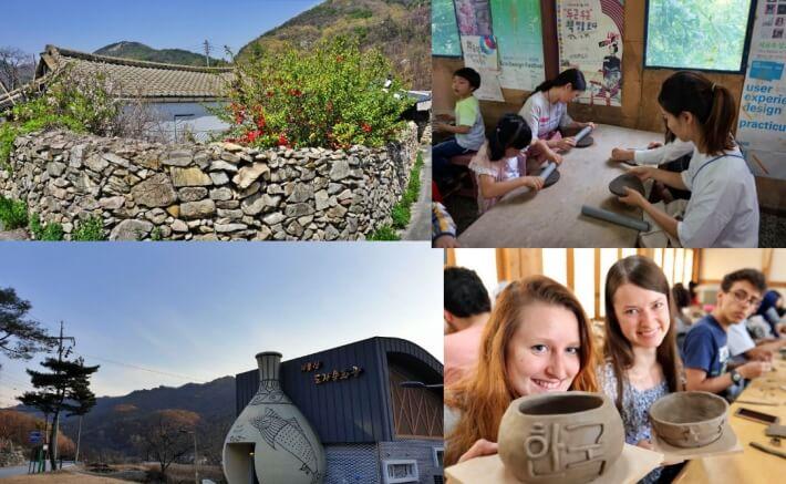 Gyerongsan-Pottery Village-Pottery Experience