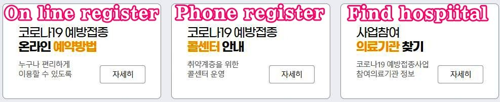 Korea-corona19-vaccination-apply