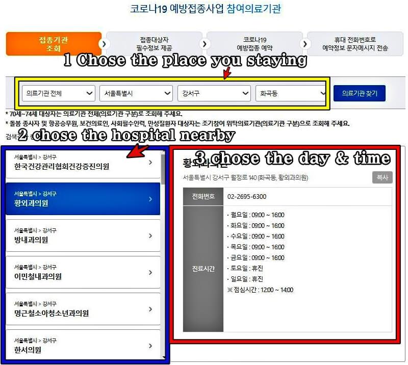 Korea-vaccination-process